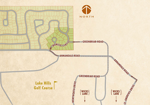 The Ranch at Lake Hills Vicinity Map